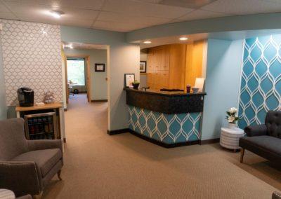 Elska Dental Reception Area